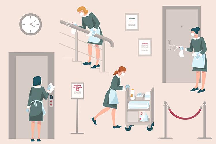 Riparte il turismo: come gestire sanificazione ed igiene dell'hotel